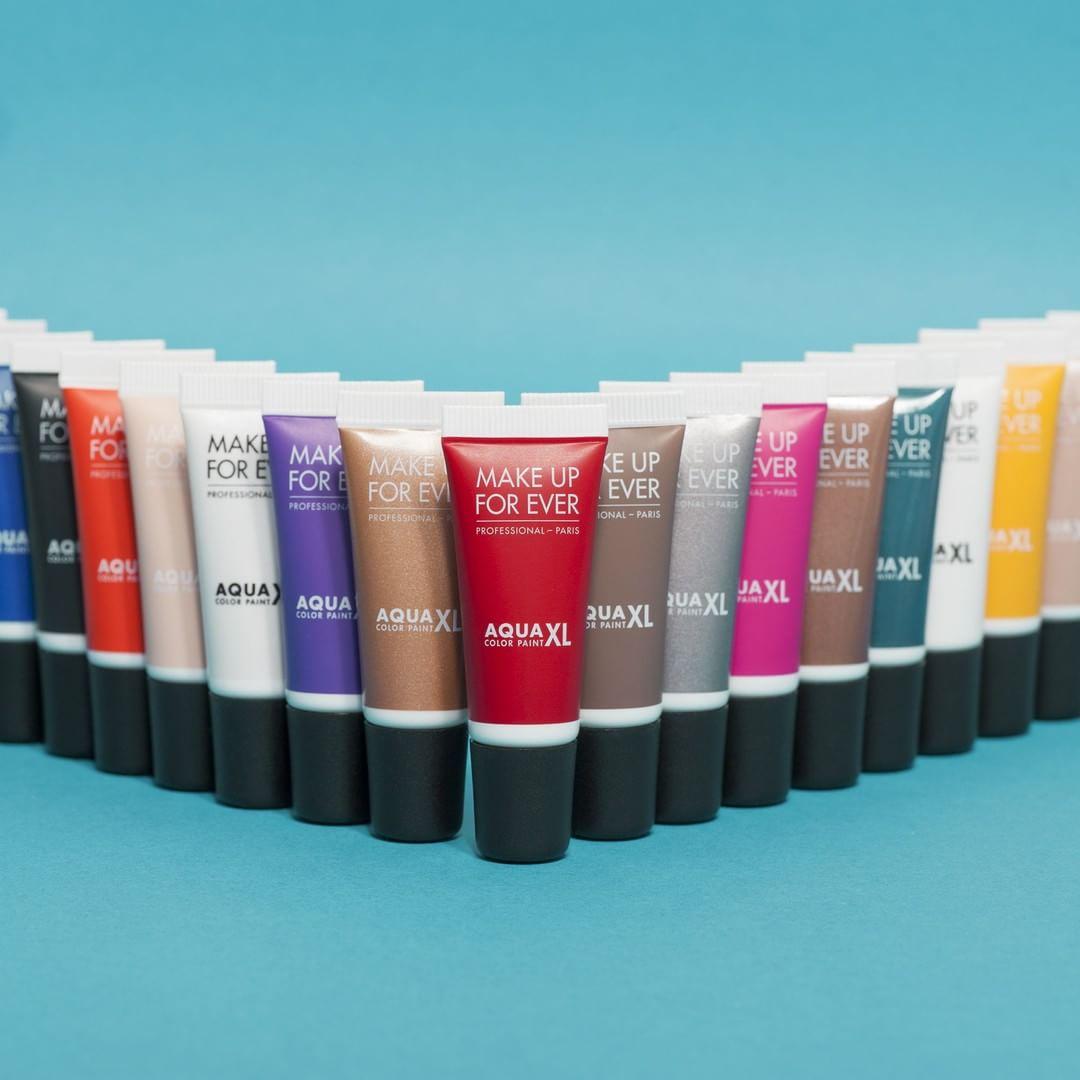 Sombra cremosa Aqua XL Color Paint, da Make Up For Ever