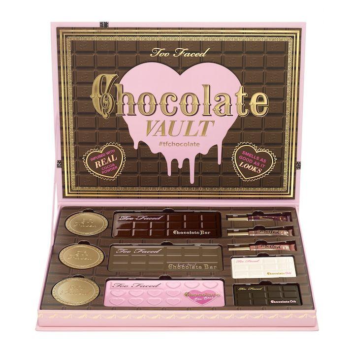 Chloe Gaya Chocolate + maquiagem: a linha da Too Faced é para dar água na boca. E já tem data para chegar no Brasil